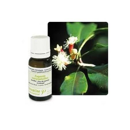 Clavo de olor aceite esencial de uñas orgánicas 10ml - Aromaterapia Pranarom