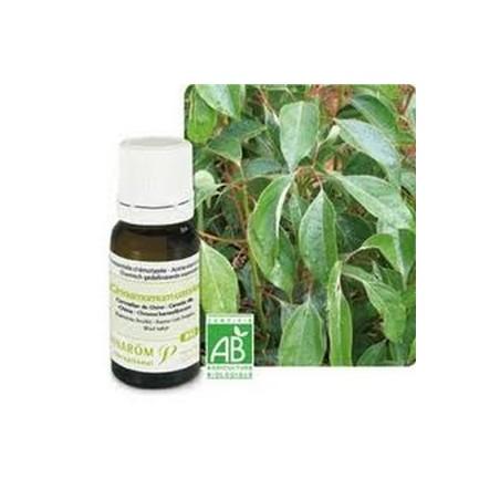 Cannelle de Chine Huile essentielle bio 10ml - Aromathérapie Pranarom