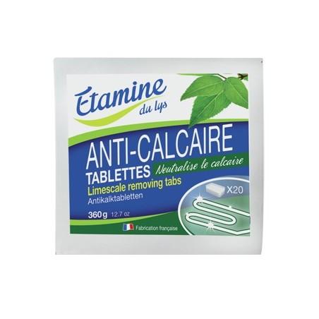 Tablettes anti-calcaire bio Etamine du Lys