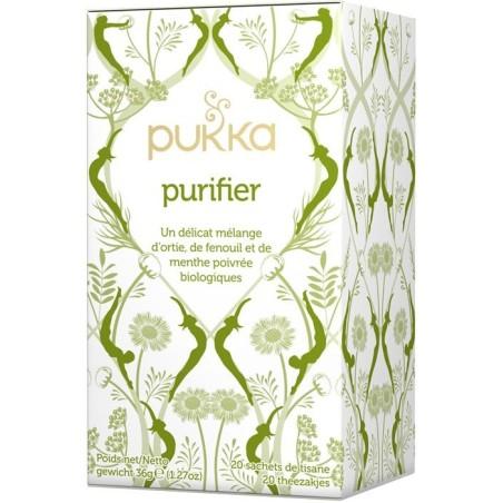 Purificar té de hierbas ayurvédico orgánico Pukka