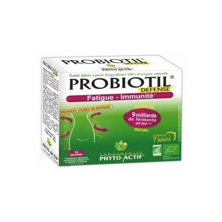 Probiotil bio Défense 14 sachets - Flore intestinale Phyto Actif