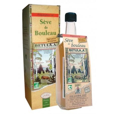 Sève de bouleau bio Betula 500ml - Détox Gayral
