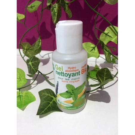 Gel Solution anti virus hydroalcoolique bio mains 75ml PhytoFrance